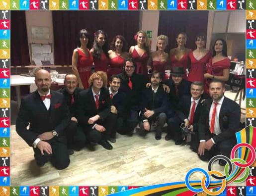 Maestri di Tango Argentino Beatrice Laghi e Davide Fazzone alla Casa dei Pini a Natale 2017