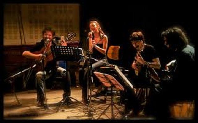 Maestri di Tango Argentino Beatrice Laghi e Davide Fazzone alla Sagra del Peperone a Carmagnola