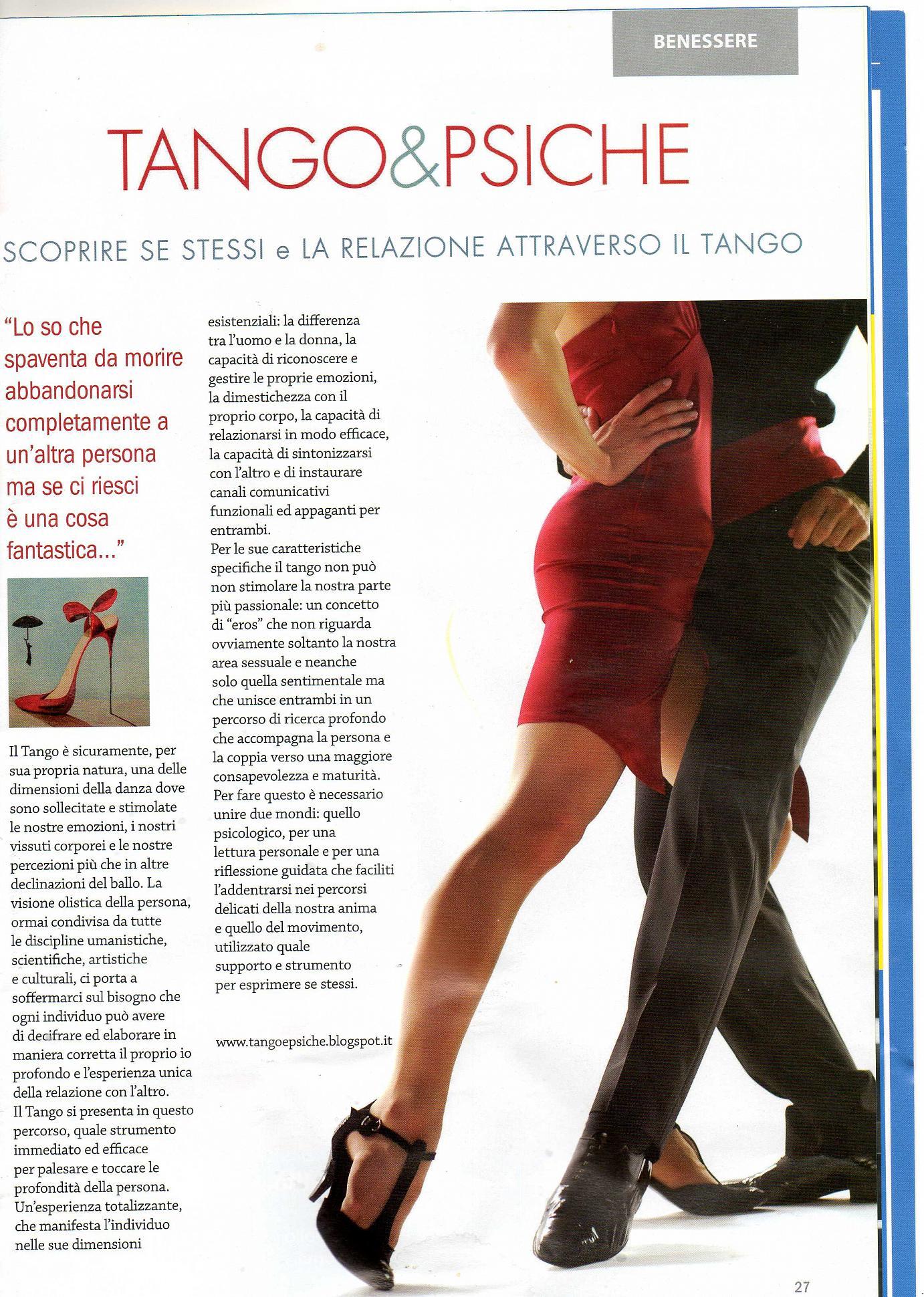 Tango e Psiche
